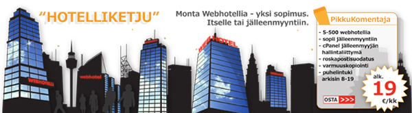 Louhi Networks Oy nettisivubanneri