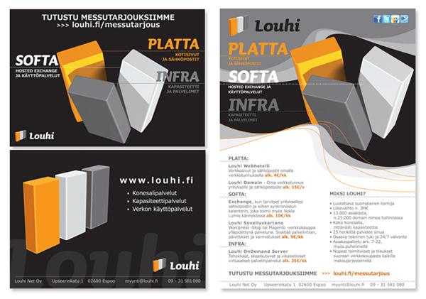 Louhi Networks Oy messukortit